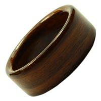 Holzring, Schmuck für Verlobungsring, Ehering, individuell, Palisander